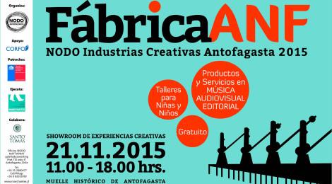 #Fábrica_ANF showroom de experiencias creativas 2015