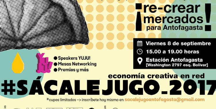 #SácaleJugo 2017 :: Economía Creativa en  Red