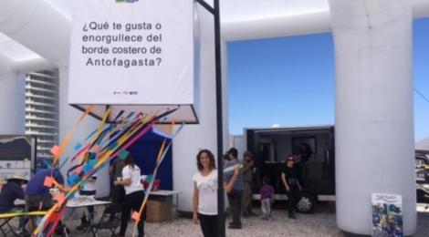 Expo itinerante y evento Parque Metropolitano Borde Costero Antofagasta